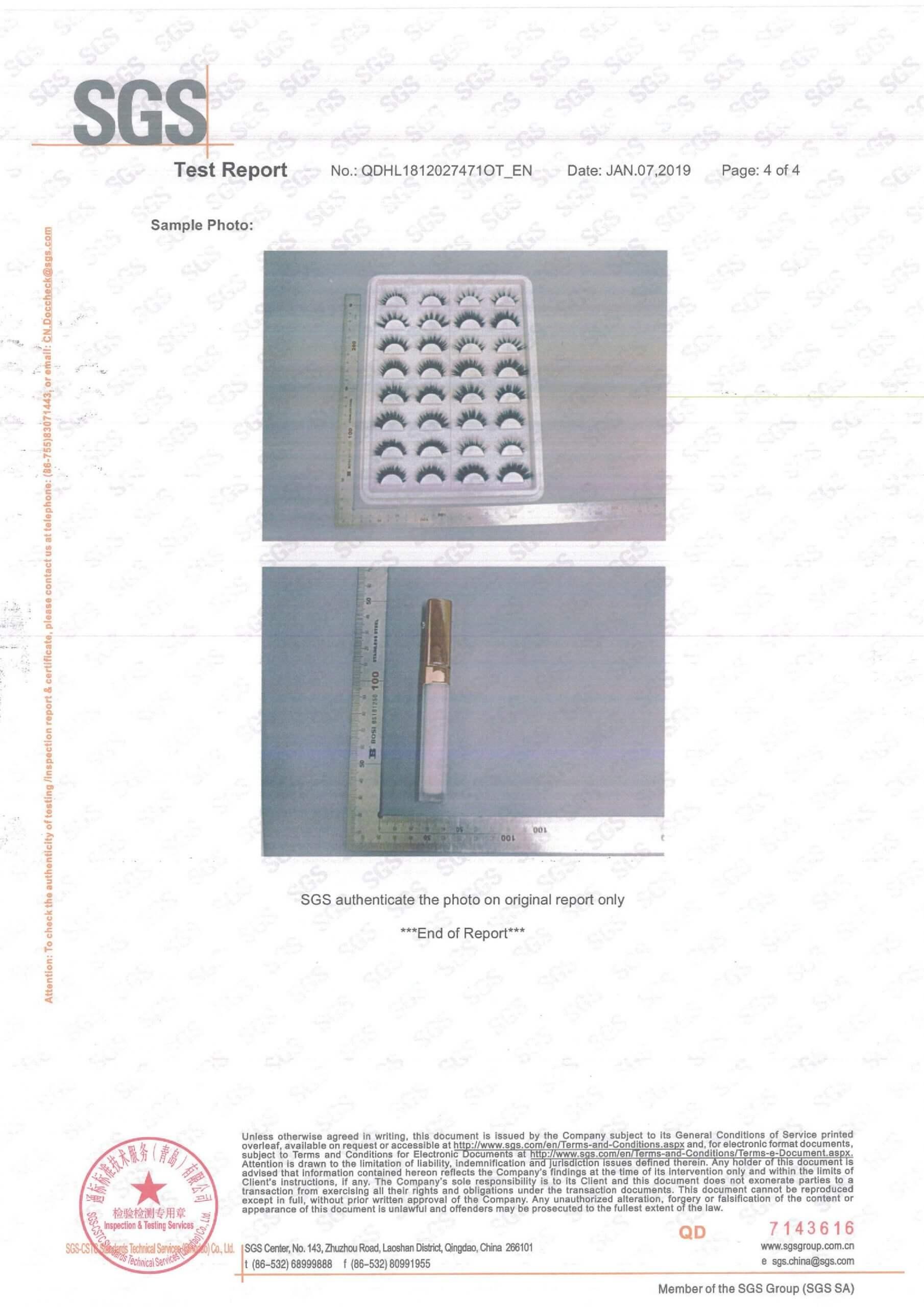 Lash Testing Report-4