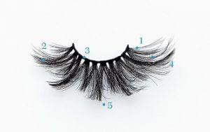 3D Silk Lashes Features website