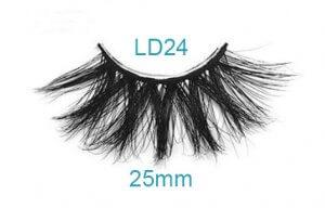25mm mink lashes LD24 web